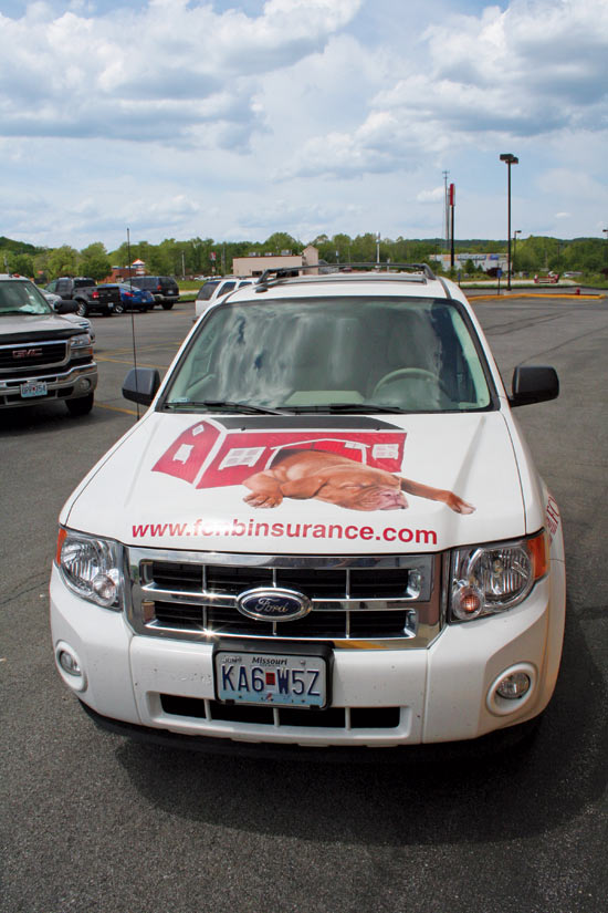 FCNB Vehicle Wrap